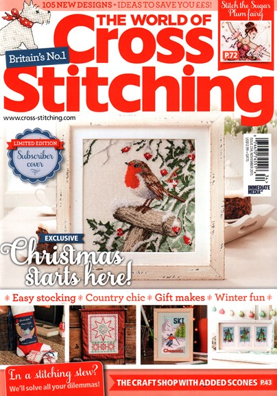The World of Cross Stitching Cover - 11/1/2015
