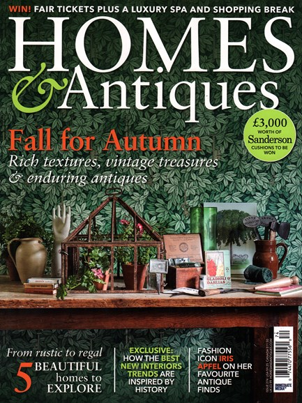 Homes & Antiques Cover - 10/1/2015