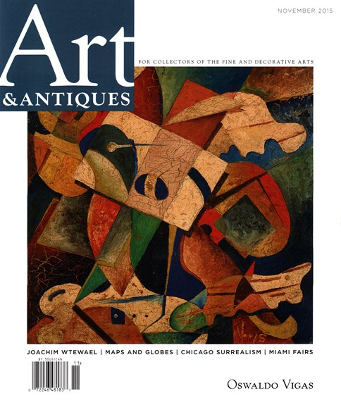 Art & Antiques Cover - 11/1/2015