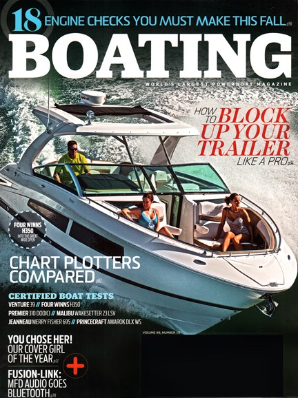 Boating Cover - 11/1/2015