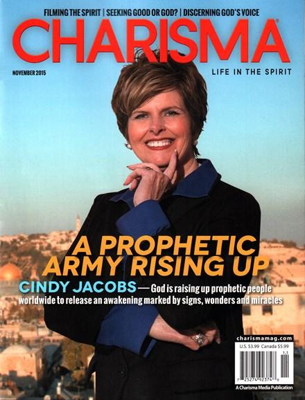 Charisma Cover - 11/1/2015