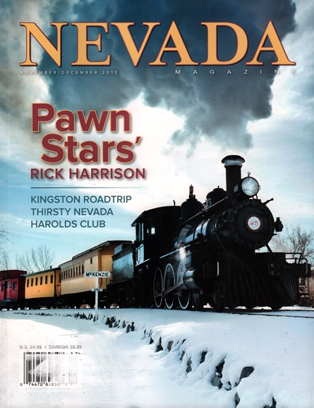 Nevada Magazine Cover - 11/1/2015