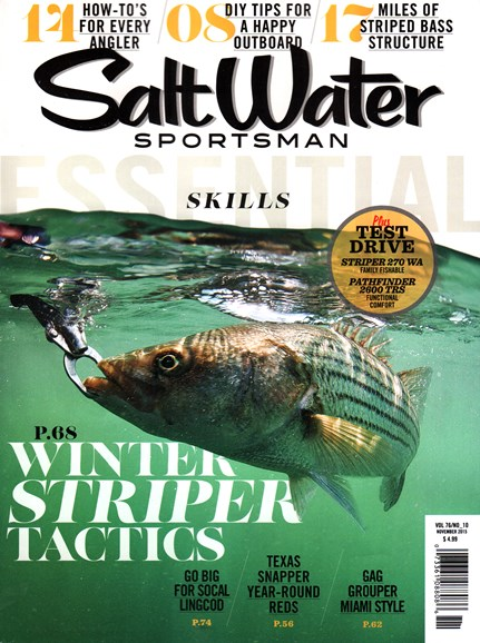 Salt Water Sportsman Cover - 11/1/2015