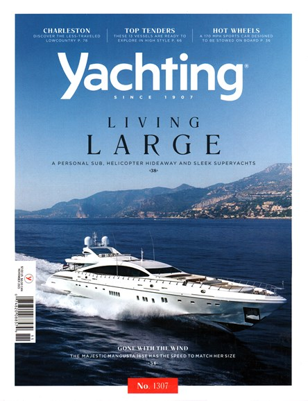 Yachting Cover - 11/1/2015