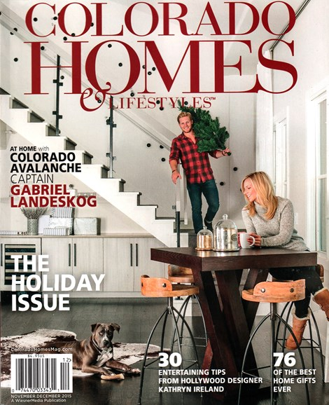 Colorado Homes & Lifestyles Cover - 11/1/2015