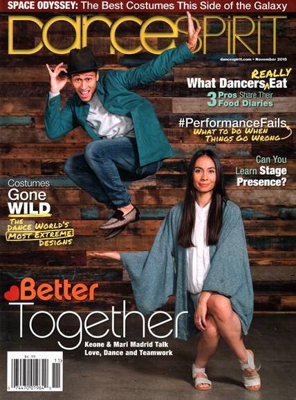Dance Spirit Cover - 11/1/2015