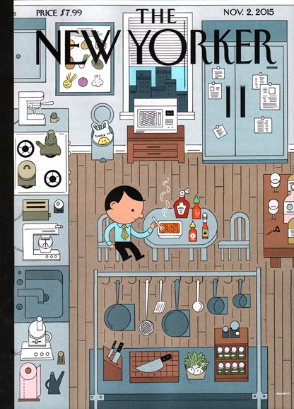 The New Yorker Cover - 11/2/2015