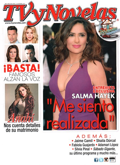 Tv Y Novelas Cover - 11/1/2015