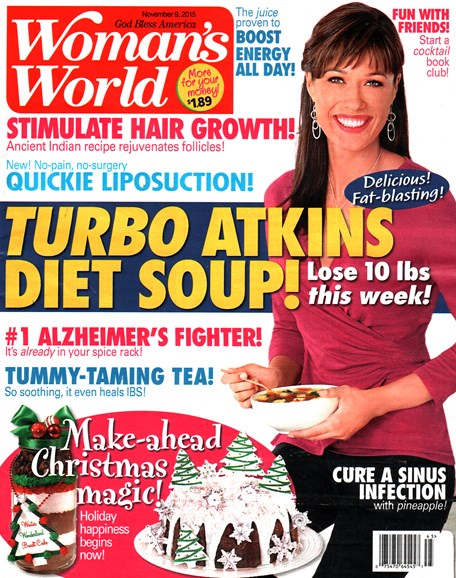 Woman's World Cover - 11/9/2015