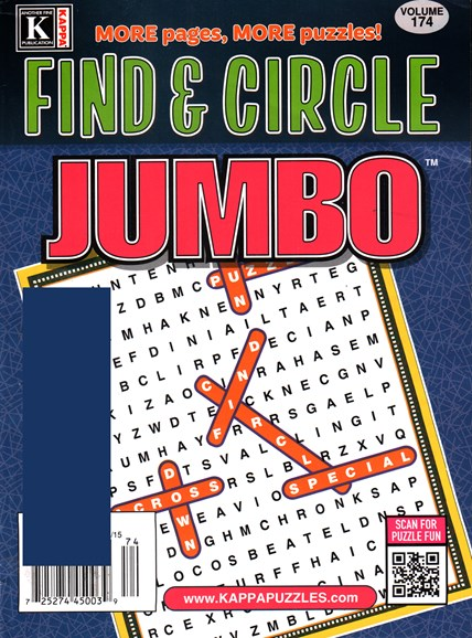 Find & Circle Jumbo Cover - 12/1/2015