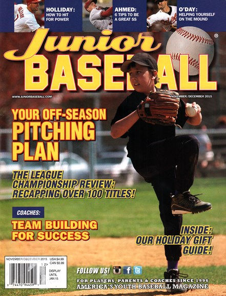Junior Baseball Cover - 11/1/2015