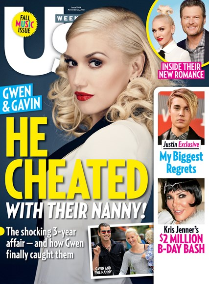 Us Weekly Cover - 11/23/2015