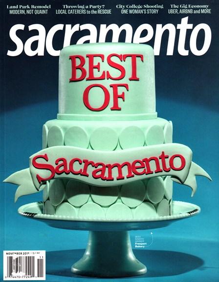 Sacramento Cover - 11/1/2015