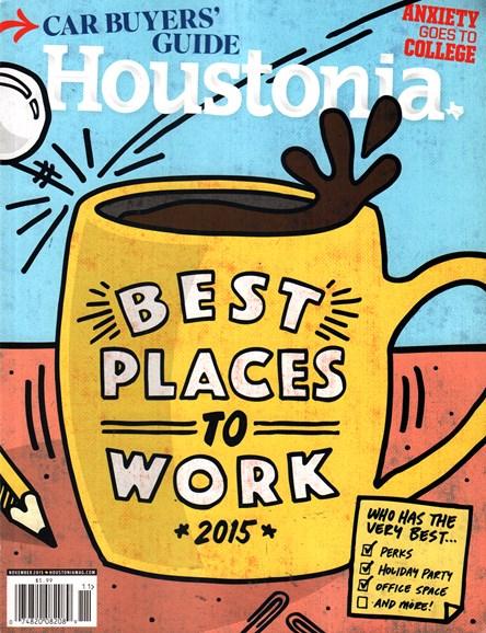 Houstonia Cover - 11/1/2015