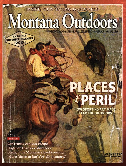 Montana Outdoors Cover - 11/1/2015