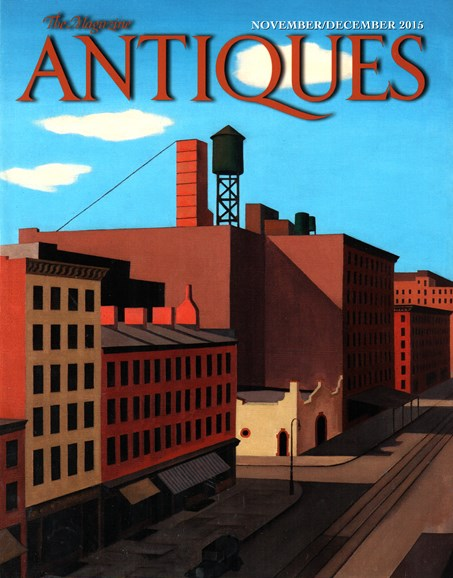The Magazine Antiques Cover - 11/1/2015