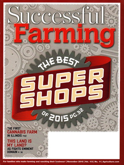 Successful Farming Cover - 11/1/2015