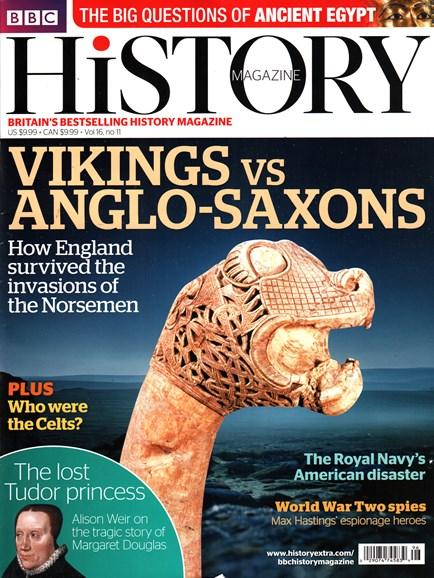 BBC History Cover - 11/1/2015