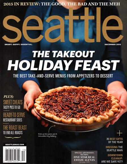 Seattle Magazine Cover - 12/1/2015