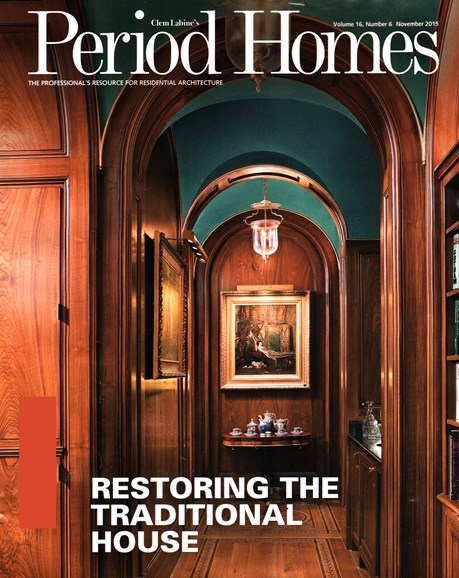 Period Homes Cover - 11/1/2015