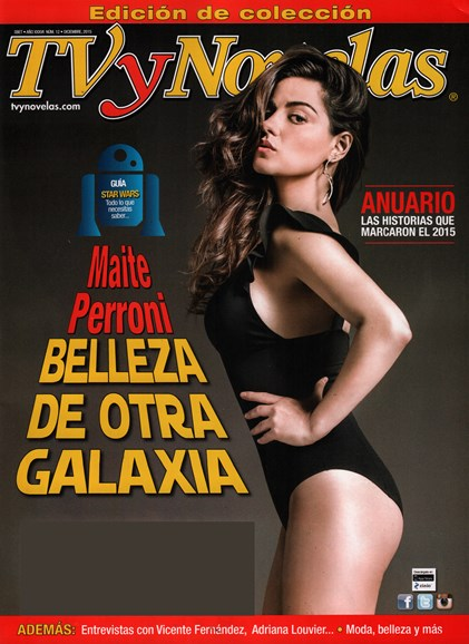 Tv Y Novelas Cover - 12/1/2015