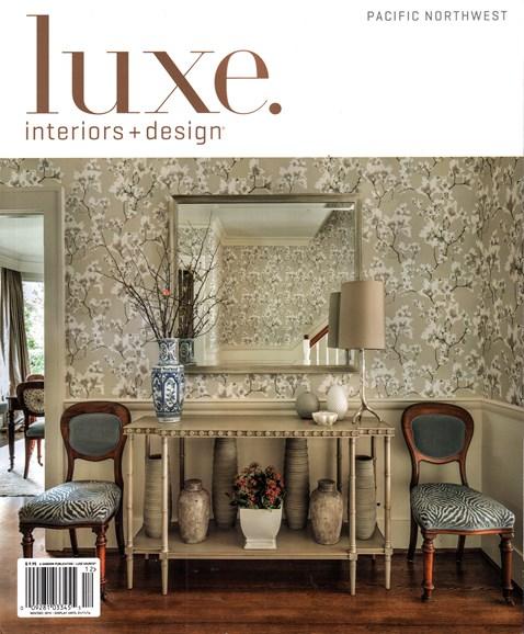 Luxe Interiors & Design Cover - 12/1/2015