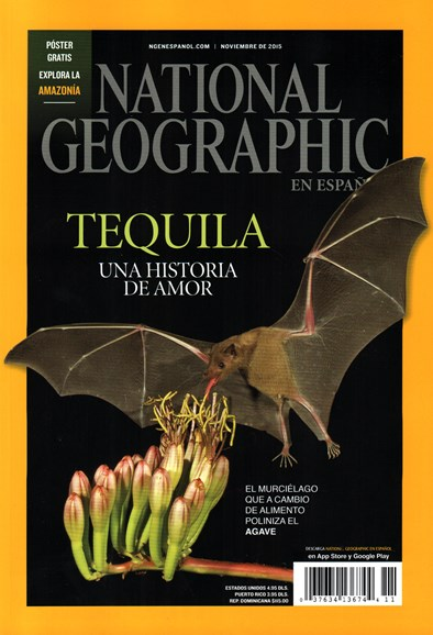 National Geographic En Español Cover - 11/1/2015