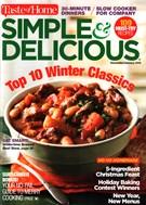 Simple & Delicious Magazine 12/1/2015