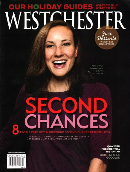 Westchester Magazine Cover - 12/1/2015