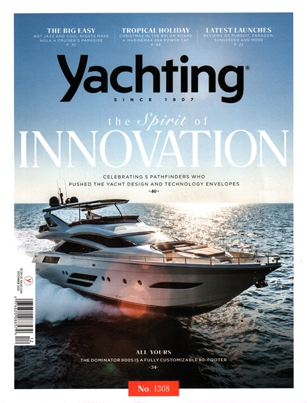 Yachting Cover - 12/1/2015