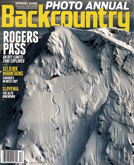 Backcountry Cover - 12/1/2015
