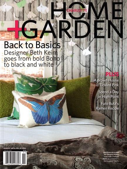 Charlotte Home & Garden Cover - 12/1/2015