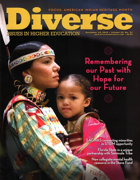 Diverse: Issues In Higher Education Cover - 12/19/2015