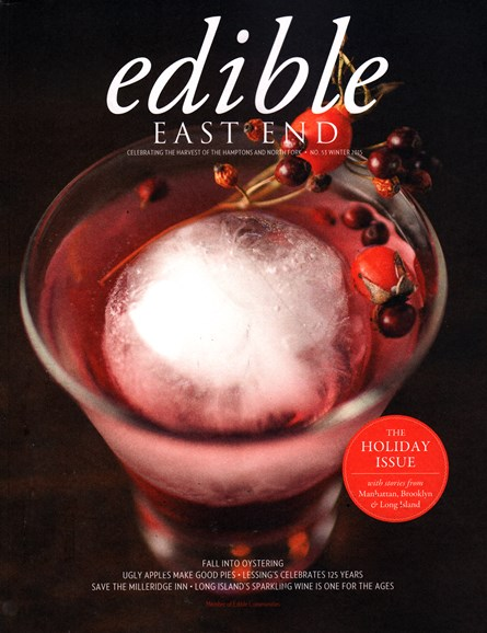 Edible East End Cover - 12/1/2015