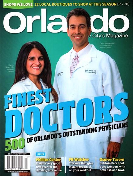 Orlando Magazine Cover - 12/1/2015