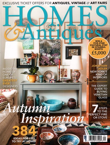 Homes & Antiques Cover - 11/1/2015