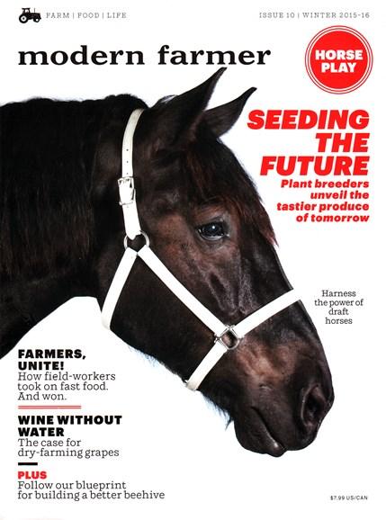 Modern Farmer Cover - 12/1/2015