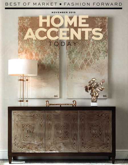 Home Accents Today Cover - 11/1/2015