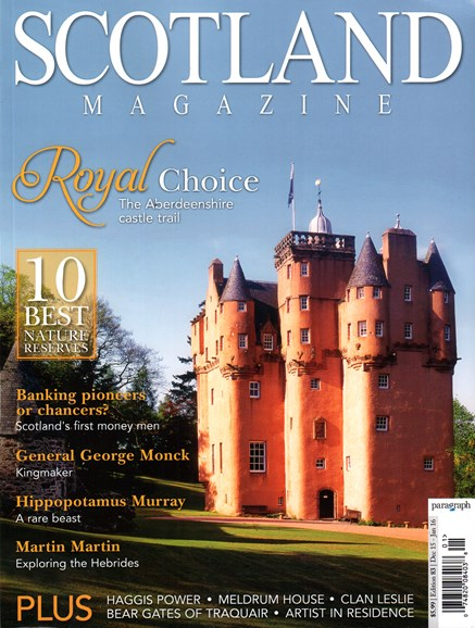 Scotland Magazine Cover - 12/1/2015
