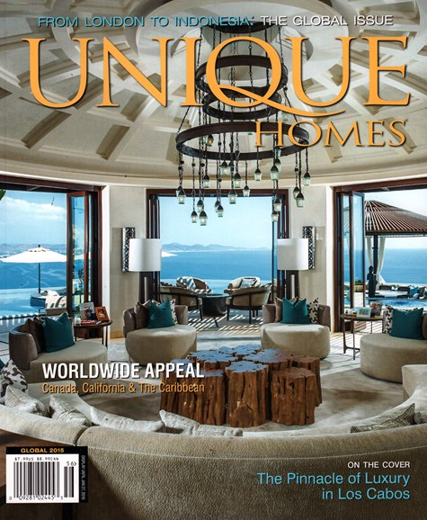 Unique Homes Cover - 12/1/2015