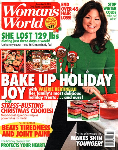 Woman's World Cover - 12/14/2015