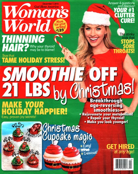 Woman's World Cover - 12/7/2015