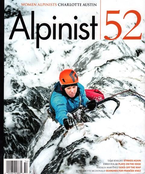 Alpinist Cover - 12/1/2015