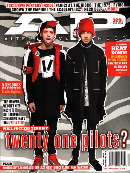 Alternative Press Cover - 12/1/2015