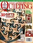 American Patchwork & Quilting Magazine 12/1/2015