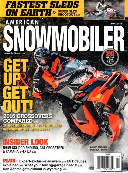 American Snowmobiler Cover - 12/1/2015