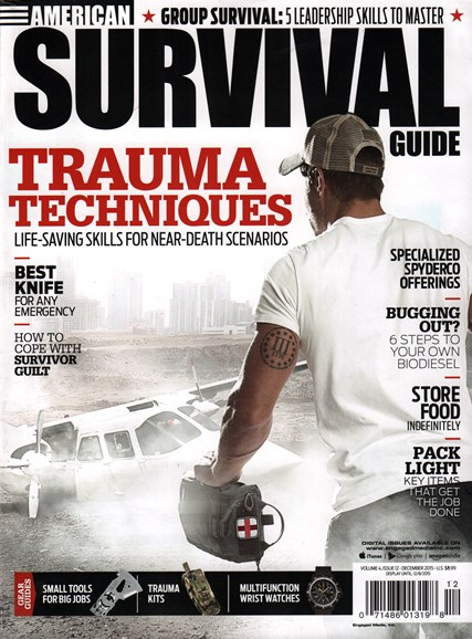 American Survival Guide Cover - 12/1/2015
