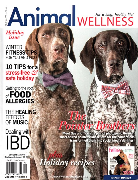 Animal Wellness Cover - 12/1/2015