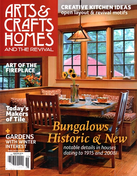 Arts & Crafts Homes Cover - 12/1/2015