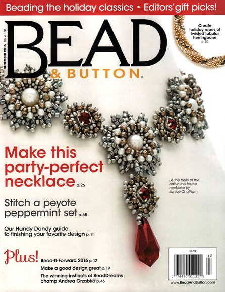 Bead & Button Cover - 12/1/2015